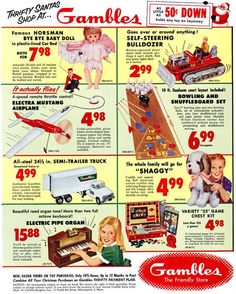 check out the prices......  and only 50 cents down on layaway