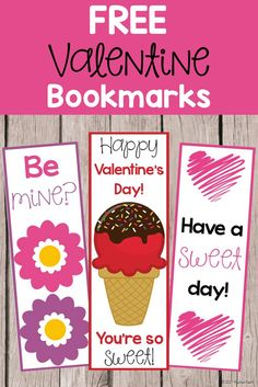 Encourage reading with these FREE Valentine's Day bookmarks! Valentines Day Treats, Valentines For Boys, Valentine Day Crafts, Valentine Ideas, All Holidays, School Holidays, Teachers Pay Teachers Freebies, Cute Bookmarks, Sweetest Day