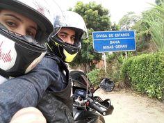 Casal faz viagem de moto de 1.853 km de BH até Nova Viçosa-BA, com o Just Ride Along. Confira como foi a experiência deles na estrada e alguns registros.