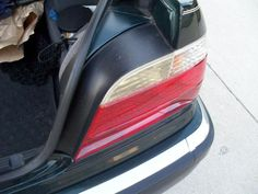 Your yellowed taillights can look new again for $8 and some elbow grease.