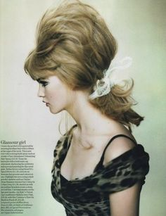 60s inspired glamour
