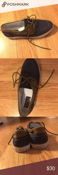 a5e9c98ec85 Mens Ralph Lauren Polo shoes Size 11 Men's Ralph Lauren Polo Boat shoes.  Dark navy