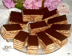 Hungarian Desserts, Tiramisu, Food And Drink, Candy, Chocolate, Ethnic Recipes, Felt, Sweet, Toffee
