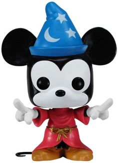Amazon.com: Funko POP! Disney - Vinyl Figure - Sorcerer MICKEY (4 inch): Toys & Games. My first Funko figure