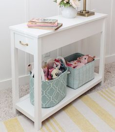 a nightstand or bedside table designed ideal for a daybed with a rh pinterest com