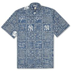 New York Yankees Lahaina Hawaiian Shirt by Reyn Spooner. Baseball  JerseysBaseball HatsMlb ... ef4d91d7d