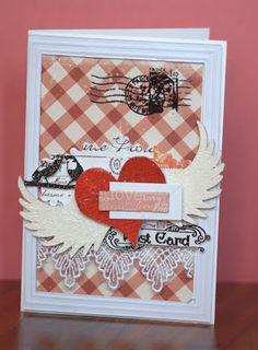 Crafty by AgnieszkaBe: Walentynki Valentines, Crafty, Frame, Cards, Home Decor, Valentine's Day Diy, Picture Frame, Valantine Day, Valentine's Day