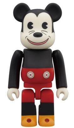 WORLD WIDE TOUR BE@RBRICK MICKEY MOUSE