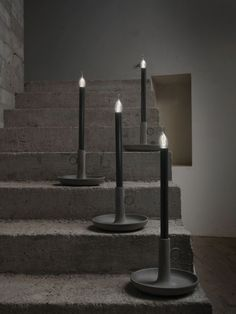 Cement table lamp CUCCIOLO by Karman | #design Matteo Ugolini @Karman srl