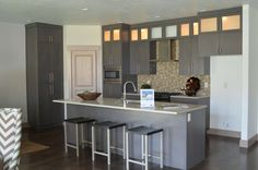 Grey Cabinets!