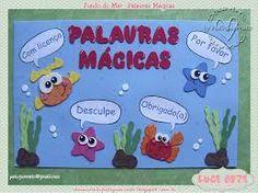 Resultado de imagem para decoração sala de aula fundo do mar