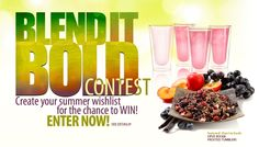 Blend it Bold Tea Contest | Create your summer wishlist for the chance to WIN!