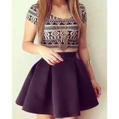 17 Ideas Skirt Outfits For Teens Formal Mode Outfits, Skirt Outfits, Dress Skirt, Skirt Set, Mini Skirt, Waist Skirt, Cute Fashion, Teen Fashion, Fashion Outfits
