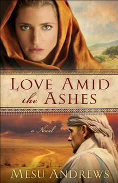 Love Amid the Ashes by Mesu Andrews - this book is free on Amazon as of January 14, 2014. Click to get it. See more handpicked free Kindle ebooks - judged by their covers fresh every day at www.shelfbuzz.com