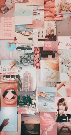 Dream Kit by Tezza Wall Collage Decor, Bedroom Wall Collage, Photo Wall Collage, Picture Collages, Cute Bedroom Decor, Room Ideas Bedroom, Retro Wallpaper, Aesthetic Iphone Wallpaper, Photowall Ideas