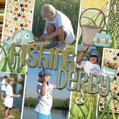 fishing derby - Scrapbook.com