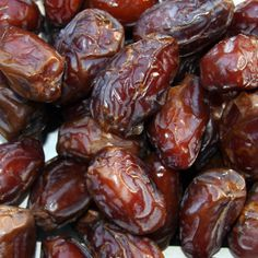 "Dates! My ""go to"" afternoon snack (with blue diamond butter toffee flavored almonds)"