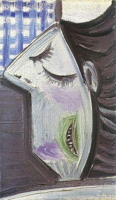Tête de femme brune - Picasso - 1943