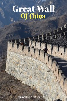 Winter in Great Wall of China – Grateful Traveller - China Travel Guide, Asia Travel, Travel Tips, Travel Ideas, Visit China, Travel Route, Toddler Travel, Great Wall Of China, Ultimate Travel