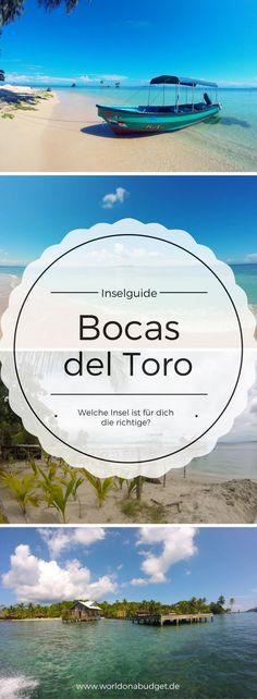 Reise Guide: Die Inseln von Bocas del Toro, Panama - unser knackiger Guide stellt dir die verschiedenen Inseln ( Isla Colon, Isla Carenero, Isla Bastimentos, Cayos Zapatilla) vor. Jetzt musst du dich nur noch für einen Inseltraum entscheiden, oder machst, dank unserer Transport Tipps Inselhopping.