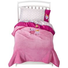 ZUTANOBLUE Owl Brights 4pc Toddler Bedding Set.Opens in a new window