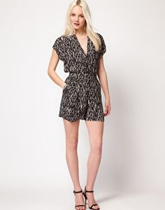 Image 4 of Mango Print Playsuit