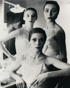 Tanaquil Le Clercq, Diana Adams and Maria Tallchief, New York City Ballet, 1952