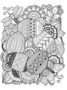 Easter Zentangle