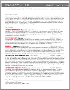 art directorsr graphic designer resume brooklyn resume studio resumes career