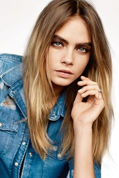 Cara Delevingne for Topshop Spring Summer 2015. This is the British supermodel's third campaign, and was shot in a studio by renowned photographer Alasdair McLellan and styled by Topshop's Creative Director Kate Phelan. See all the looks on GLAMOUR.COM UK