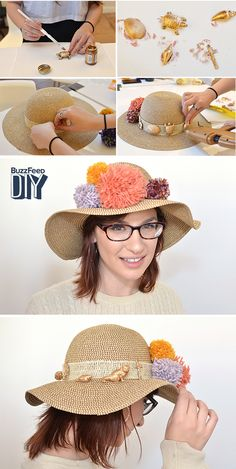 How to make a tastefully insane Kentucky Derby hat.