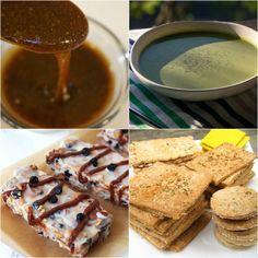 "Paleo AIP Recipe Roundtable #184 | Phoenix Helix - *Featured Recipes: ""Teriyaki"" Sauce, Coconut Granola Bars, Watercress & Apple Soup, and Herb & Garlic Crackers"