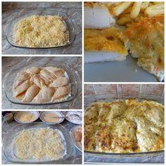 Családi kondér: Tejszínes sajtos csirke