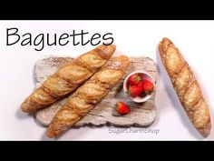 ▶ Miniature French Baguettes - Polymer Clay Tutorial - YouTube