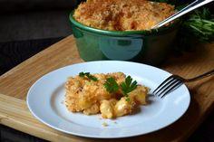 Buffalo Mac n Cheese w Crispy Chicken