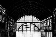Verlaten treinstations: Station Mapocho in Santiago, Chili - Reizen met de trein