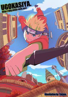 Naruto fanart by Taiyou