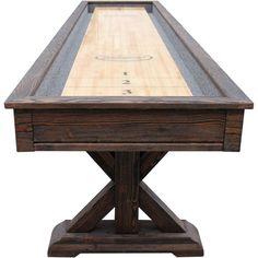 Playcraft Brazos River Pro-Style Shuffleboard Table - SHBRR