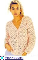 Peach Cardigan free crochet graph pattern