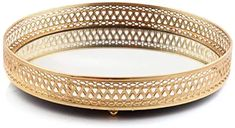 Amazon.co.uk : gold tray Mirrored Serving Tray, Mirror Tray, Cake Tray, Jewelry Candles, Jewelry Holder, Bangles, Bracelets, Candle Holders, Polish