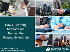 The best way of improving the quality of the industry is by leveraging all the available technological options. This rule is also followed by the #hospitality industry.  Read Here, How E-learning Methods are helping the Hospitality Industry - goo.gl/9o7O8E