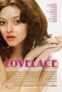 [capsule review] Lovelace - I had no idea that the story of Linda Lovelace is really a story of domestic abuse.  And maybe it was the pornstache, but oddly I didn't find Peter Sarsgaard at all compelling this time.  He acted like a dick too well.  I want to read her book now and I kinda want to see Deep Throat.  You know, for historical purposes.  (iPad rental, 9/4/13)