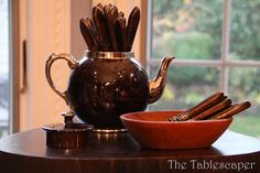 The Tablescaper: Thanksgiving Buffet