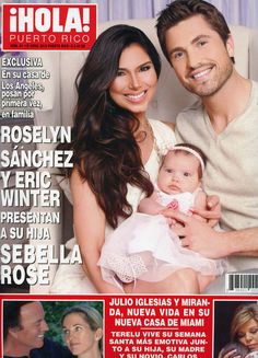 Roselyn Sanchez's Layla Grayce designed nursery as seen in Hola! Puerto Rico magazine April 2012. #laylagrayce #press #roselynsanchez #nursery