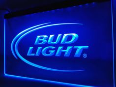 Bud Lite Beer Bar Pub Club Logo LED Neon Light Sign #Unbranded #NewClassicalPostmodern