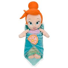 Disney's Babies Ariel Plush Doll and Blanket