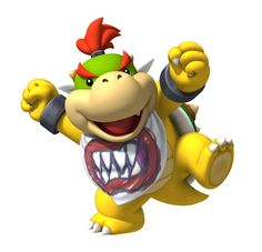 My favourite Nintendo character, Bowser Junior or Baby Bowser.