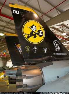 VFA-31 Tomcatters... These were the ones that carried the bombs... Bombcats...