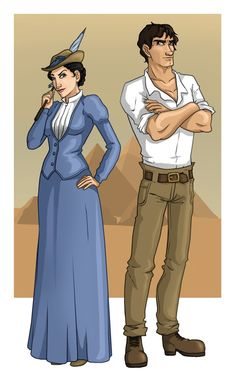 Peabody and Emerson by ~aliceazzo on deviantART
