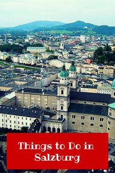 There are plenty of things to do in Salzburg, from culture to kitsch, you'll find something to interest everyone and leave feeling enchanted. Christmas In Europe, Christmas Travel, Backpacking Europe, Europe Travel Tips, Austria, Round The World Trip, Future Travel, Germany Travel, Paris Skyline